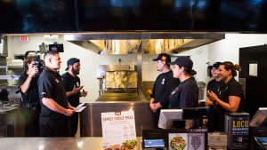 Video Production In Kitchen